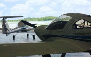 Planes in Hangar (2)