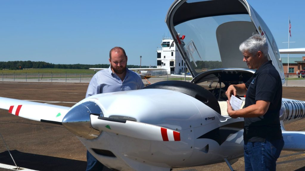 Student Flight Training at CTI Professional Flight Training
