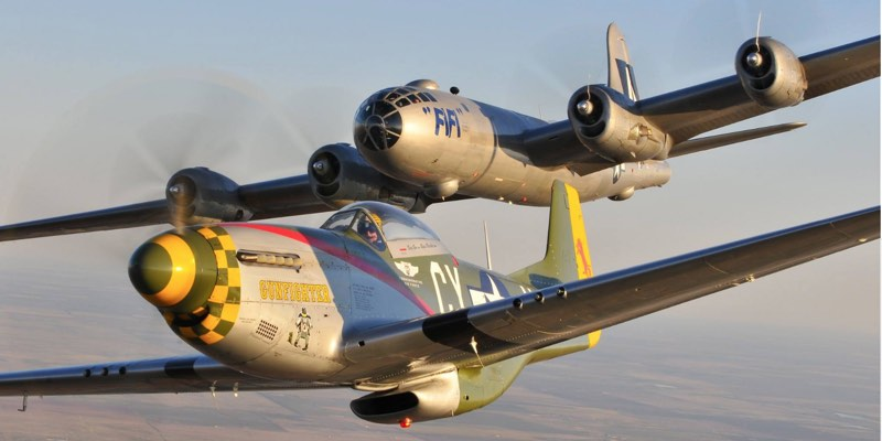 FIFI, the world's most famous B-29 Superfortress