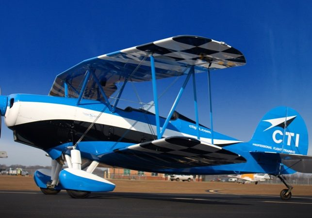 CTI PFT Training Aircraft | Biplane